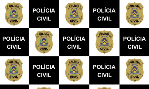 Banner da Polícia Civil do Tocantins